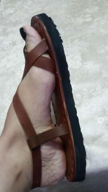 Imagen producto Nuevas! Sandalias artesanales en piel. 2