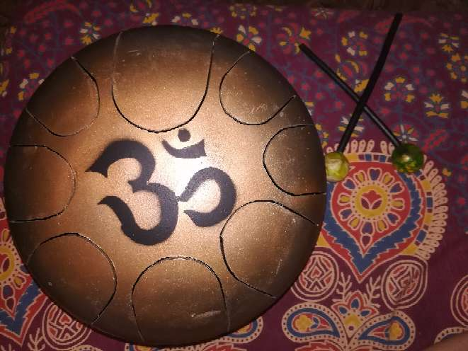 Imagen Instrumento ancestral hecho a mano.