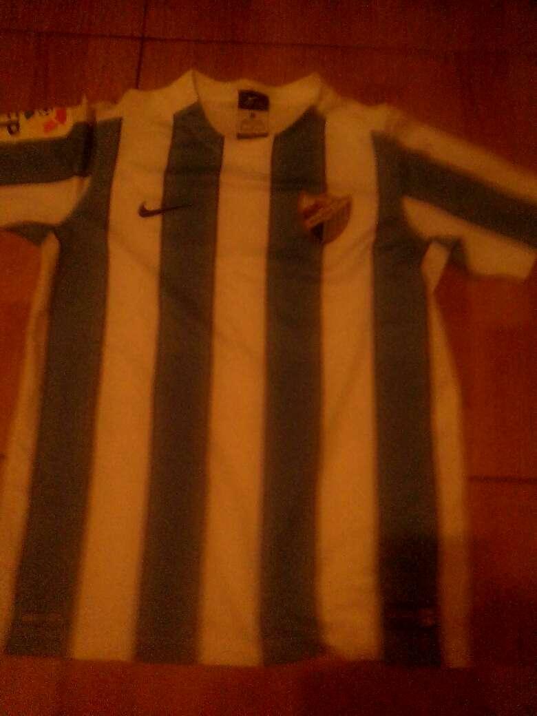 Imagen camiseta del Málaga cf