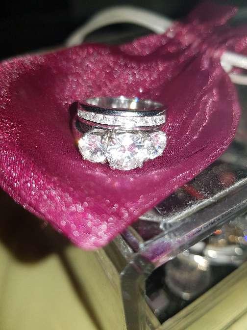 Imagen anillo de plata de ley