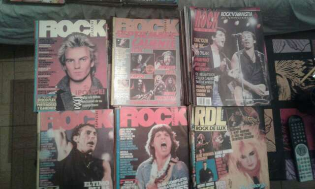 Imagen producto Colección de revistas de rock 70/80/90 2