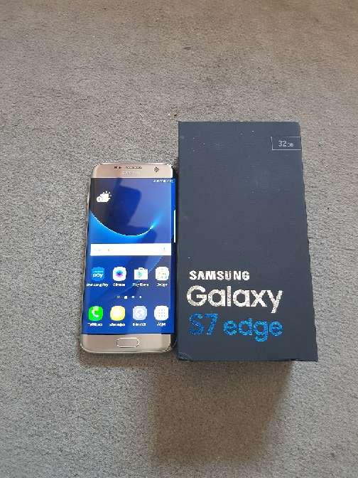 Imagen Samsung s7 edge plata