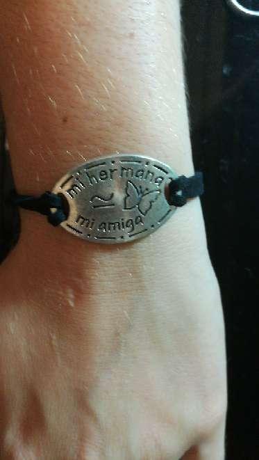 Imagen pulsera mi hermana mi amuga