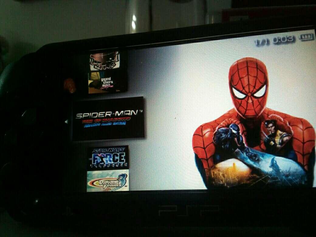 Imagen PSP con juegos incluidos
