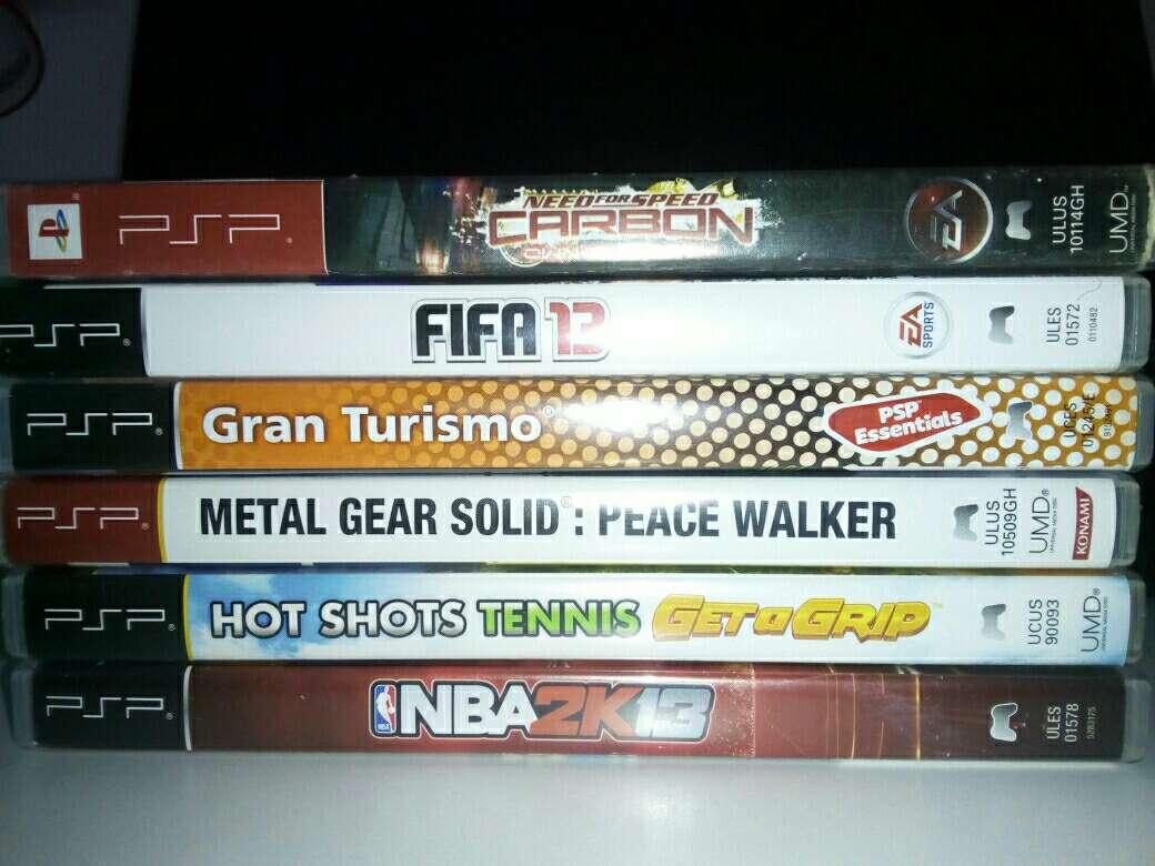 Imagen producto PSP con juegos incluidos 2