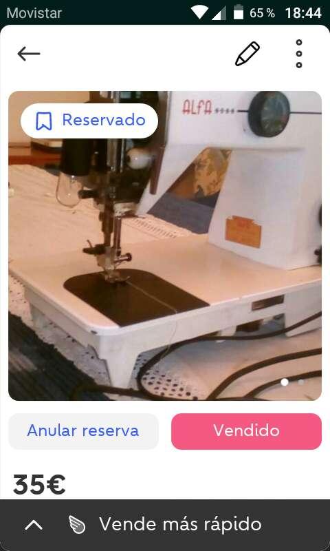 Imagen makina de coser