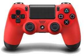 Imagen mando ps4 color rojo