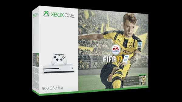 Imagen consolas con caja Xbox one s