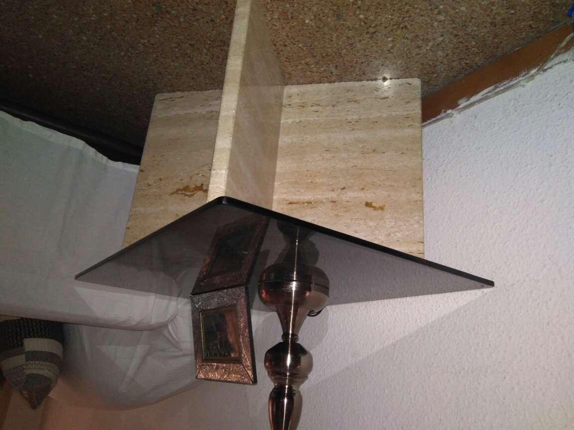 Imagen producto Mesa cristal y marmol 2