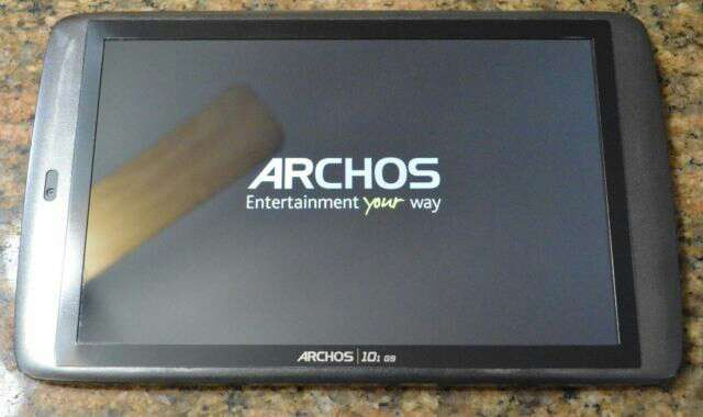 Imagen tablet archos 10.1
