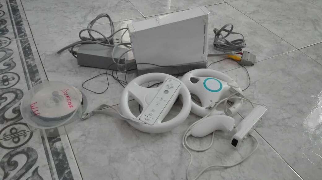 Imagen Wii con sus juegos