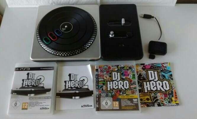 Imagen DJ Hero 1 y 2 PS3, más mesa de mezclas