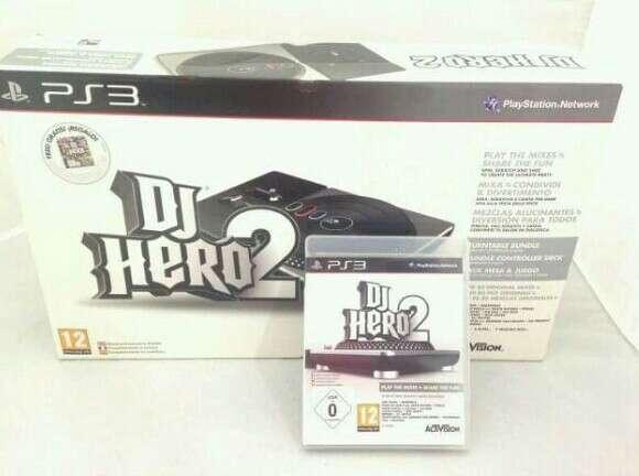 Imagen producto DJ Hero 1 y 2 PS3, más mesa de mezclas  2