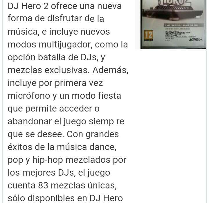 Imagen producto DJ Hero 1 y 2 PS3, más mesa de mezclas  3