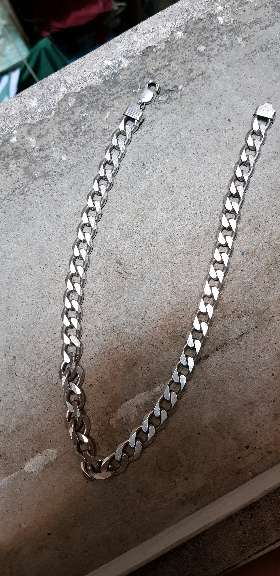 Imagen producto Cadena de plata Italiana 1