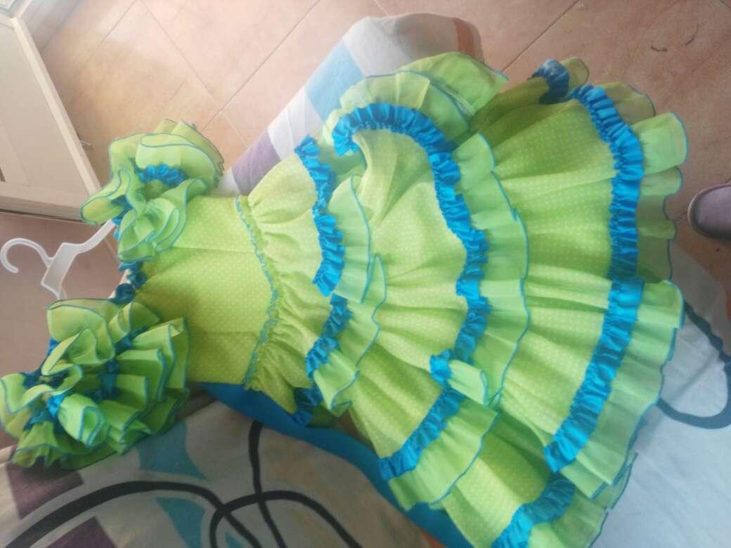 Imagen vestido de gitana