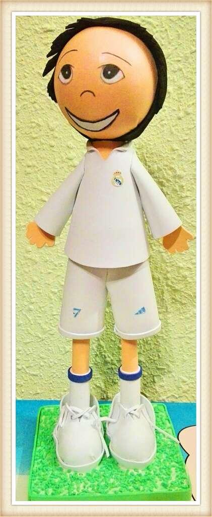 Imagen producto Fofucha Ronaldo Cristiano 07 3