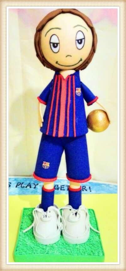 Imagen producto Leo Messi 10 (Fofucha) 1