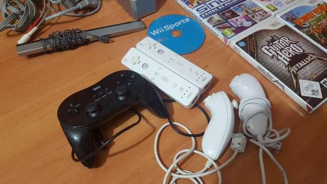Imagen producto Wii blanca+ mandos+juegos 2