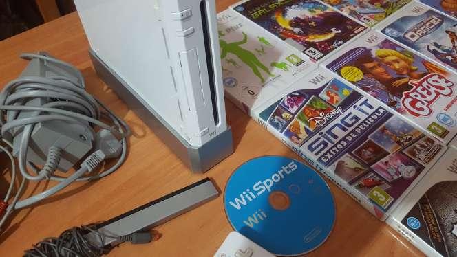 Imagen producto Wii blanca+ mandos+juegos 3