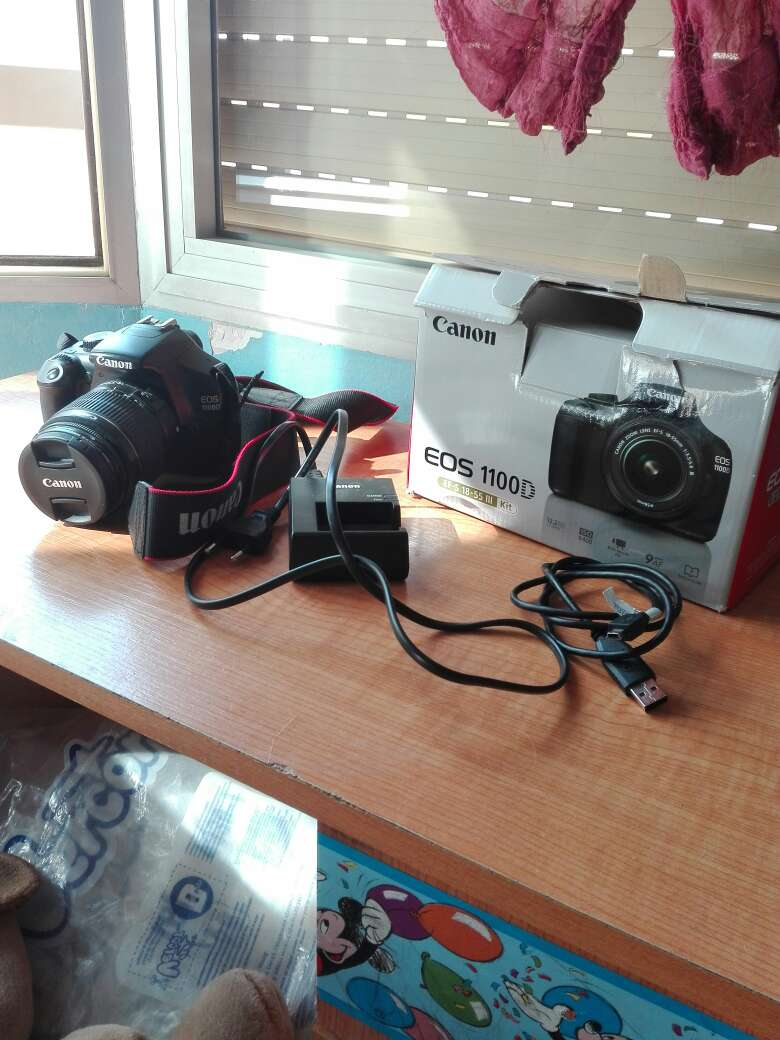 Imagen producto Camara reflex  Canon eos 1100D 3
