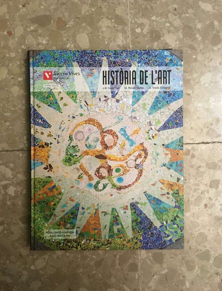Imagen Libro de texto historia del arte