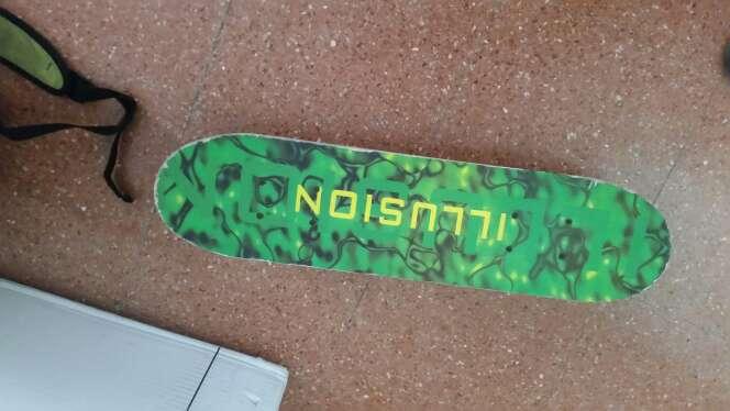 Imagen skate verde