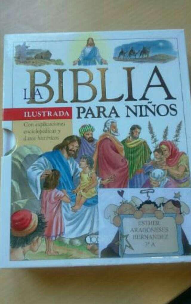 Imagen Biblia para niños