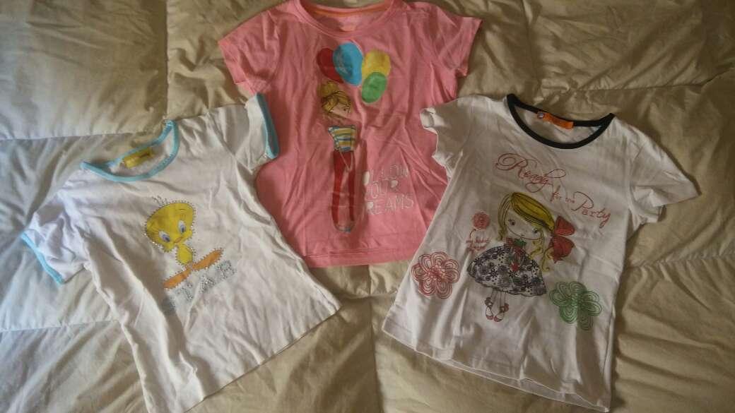 Imagen lote camisetas talla 10