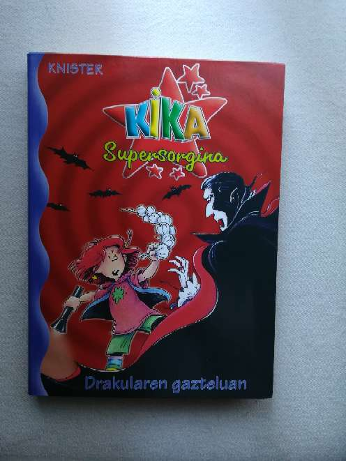 Imagen Libro Kika supersorgina