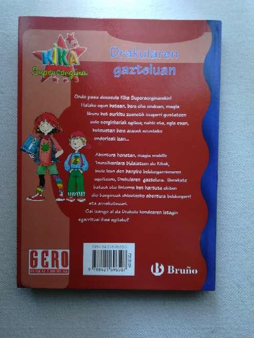 Imagen producto Libro Kika supersorgina 2