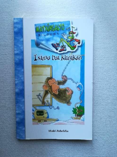 Imagen Libro Tximu bat klinikan