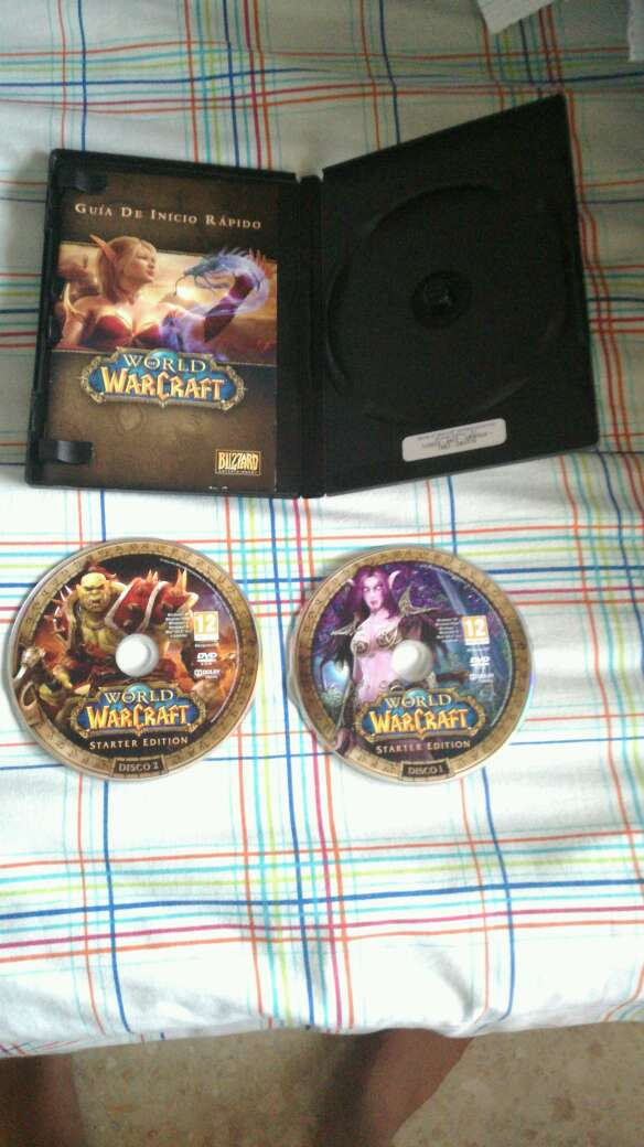 Imagen World of warcraft started edition dos discos