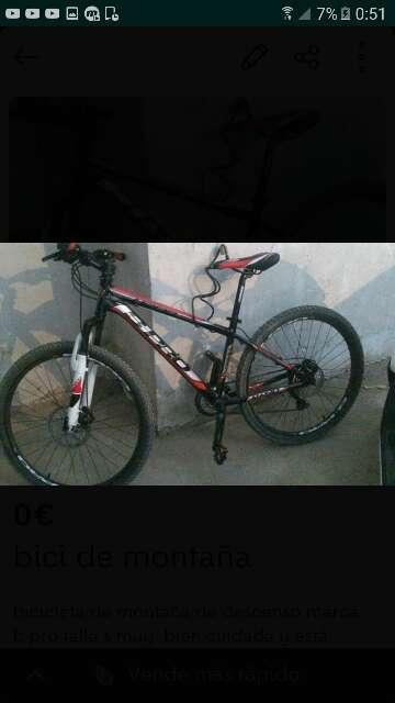 Imagen producto Bicicleta de montaña 1