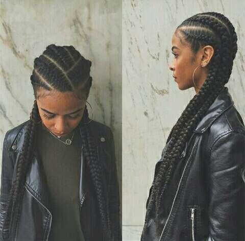 Imagen Peinados de Trenzas