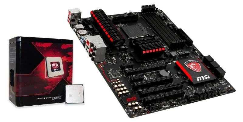 Imagen producto Ordenador Amd FX 8350 + 16GB ram + SSD + Crossfire 2