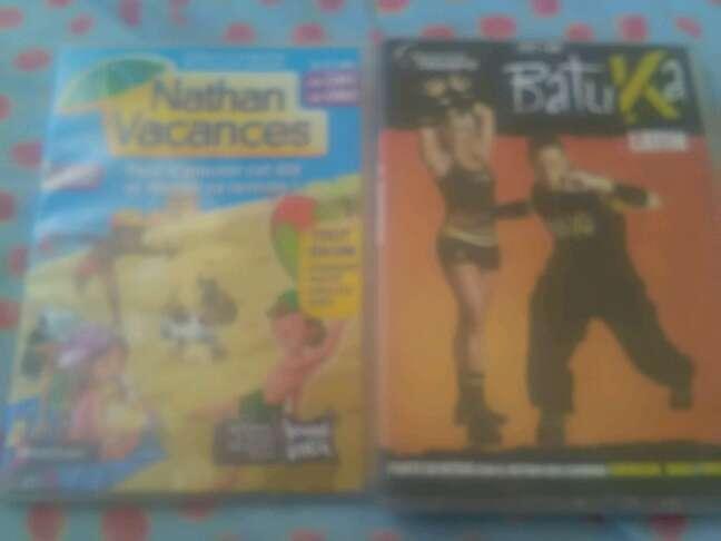 Imagen DVD batuka y nathan vacances son a 1€ cada uno