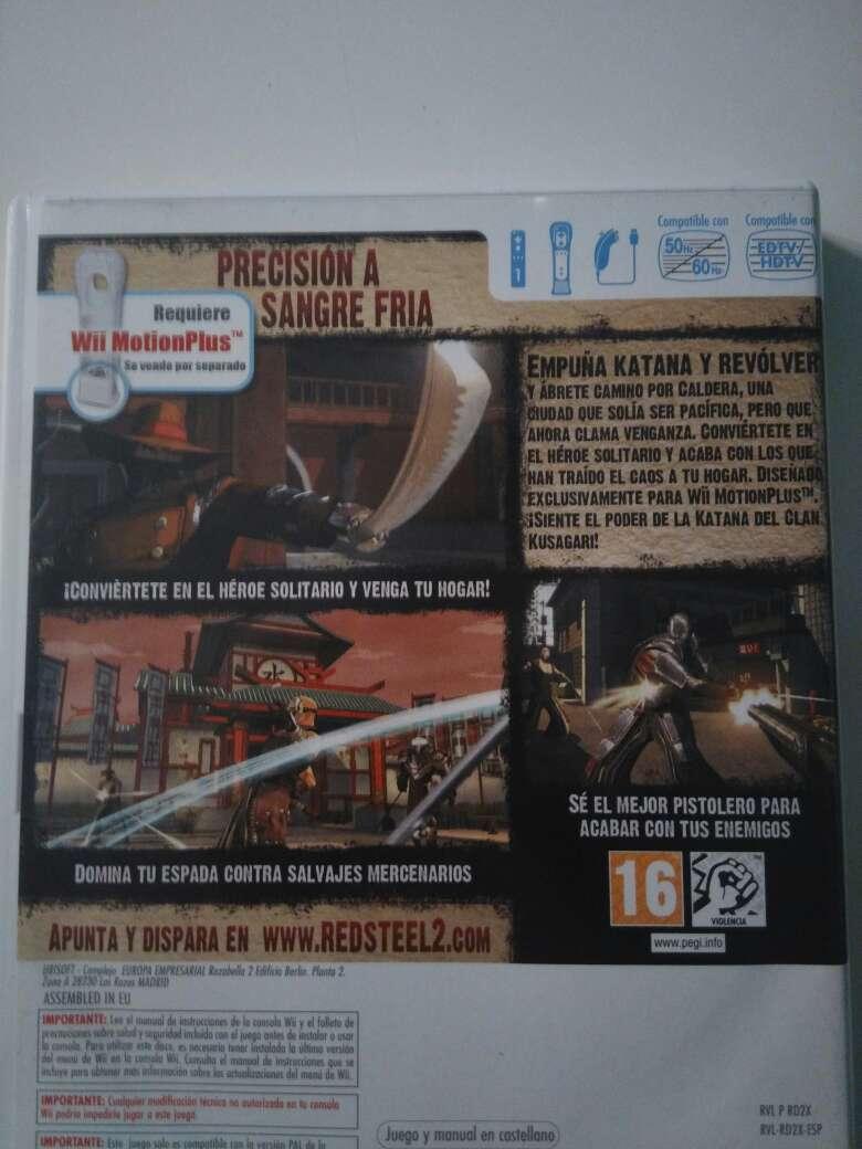 Imagen producto Red Steel 2 Wii 2