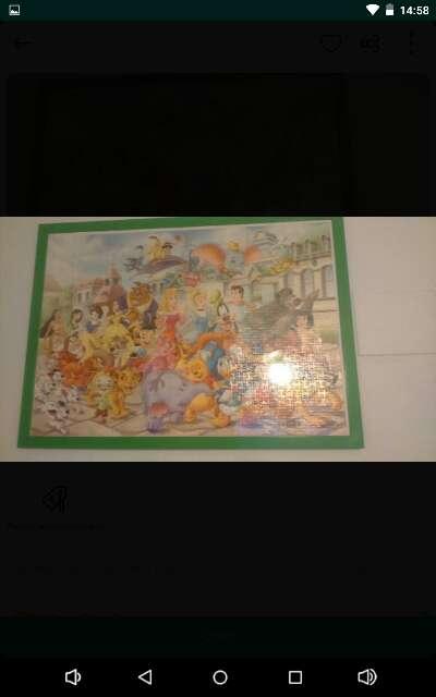 Imagen producto Cuadro Disney enmarcado 1