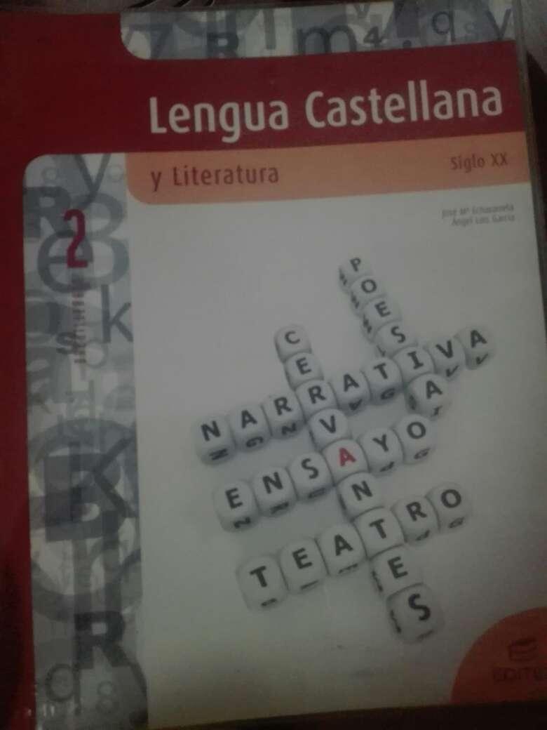 Imagen Libro Lengua Castellana