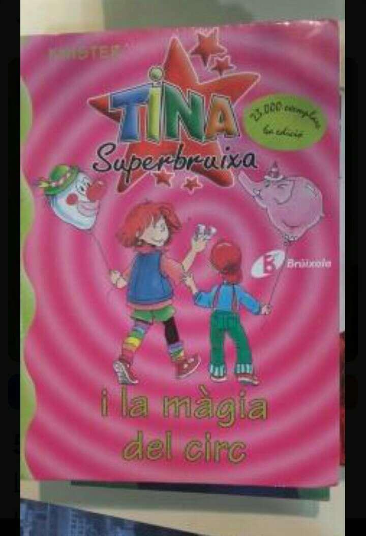 Imagen producto Tina superbruixa i la màgia del circ 1
