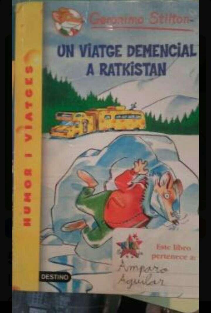 Imagen Geronimo Stilton un viatge demencial a Ratkistan