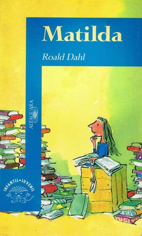 Imagen Matilda lectura escolar