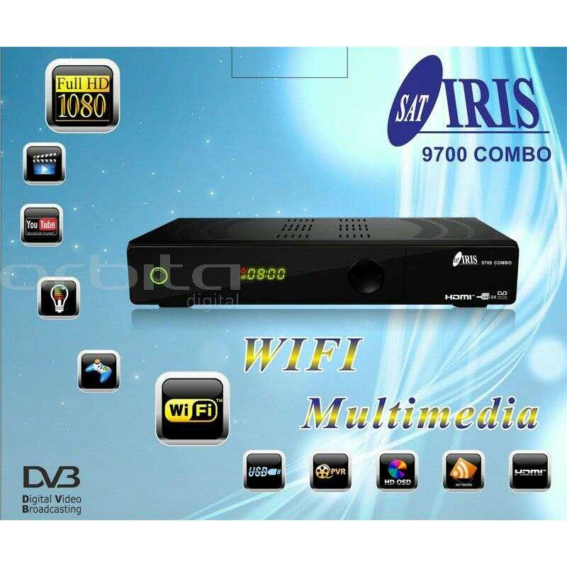 Imagen iris 9700hd combo