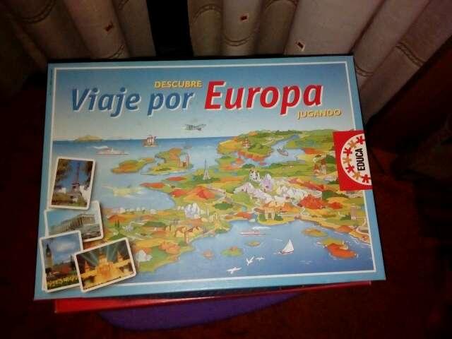Imagen Juego de mesa Viaje por Europa