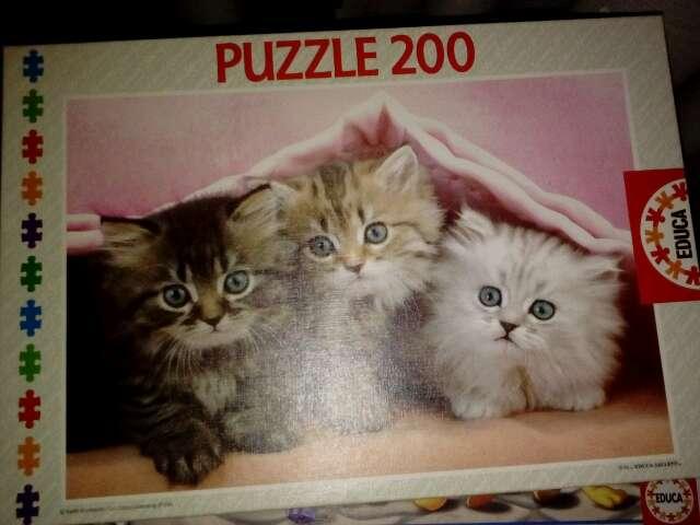 Imagen Puzzle de gatitos