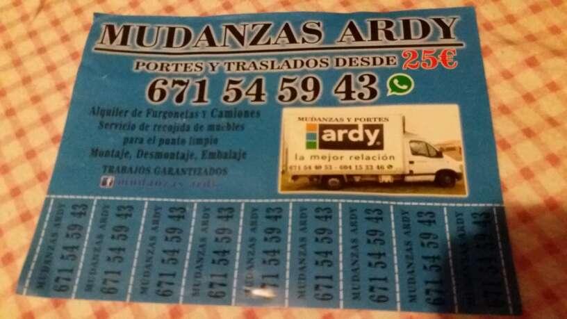 Imagen producto Mudanzas Ardy 1