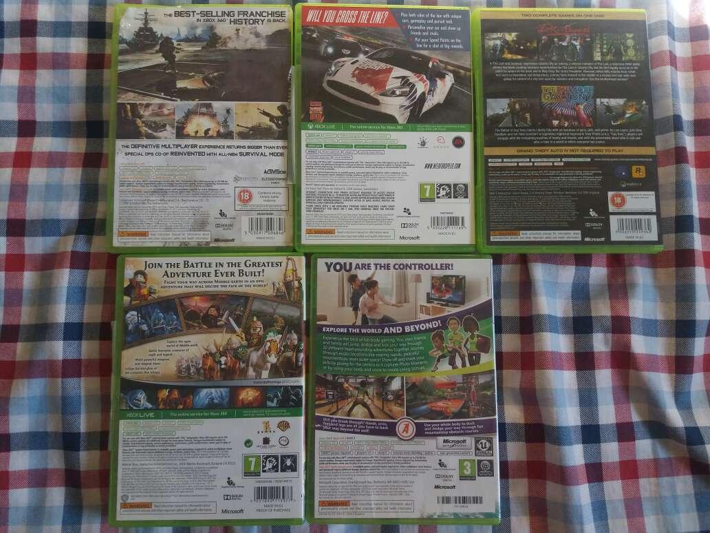 Imagen producto Juegos de xbox 360 2