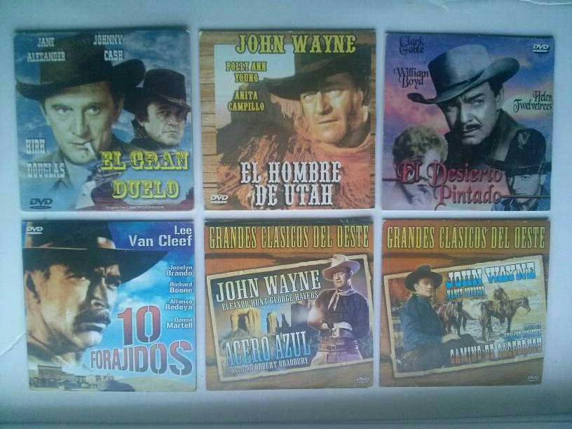 Imagen Lote peliculas de Vaqueros en DVD
