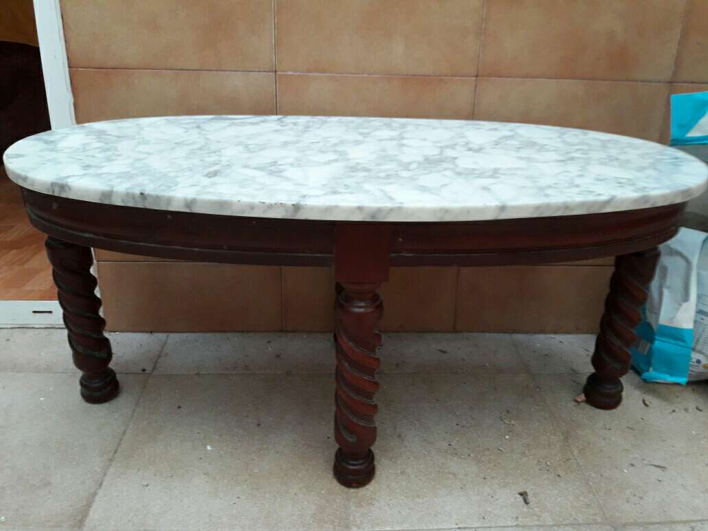 Imagen mesa centro marmol